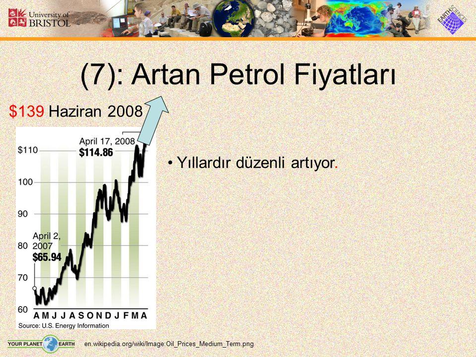 (7): Artan Petrol Fiyatları