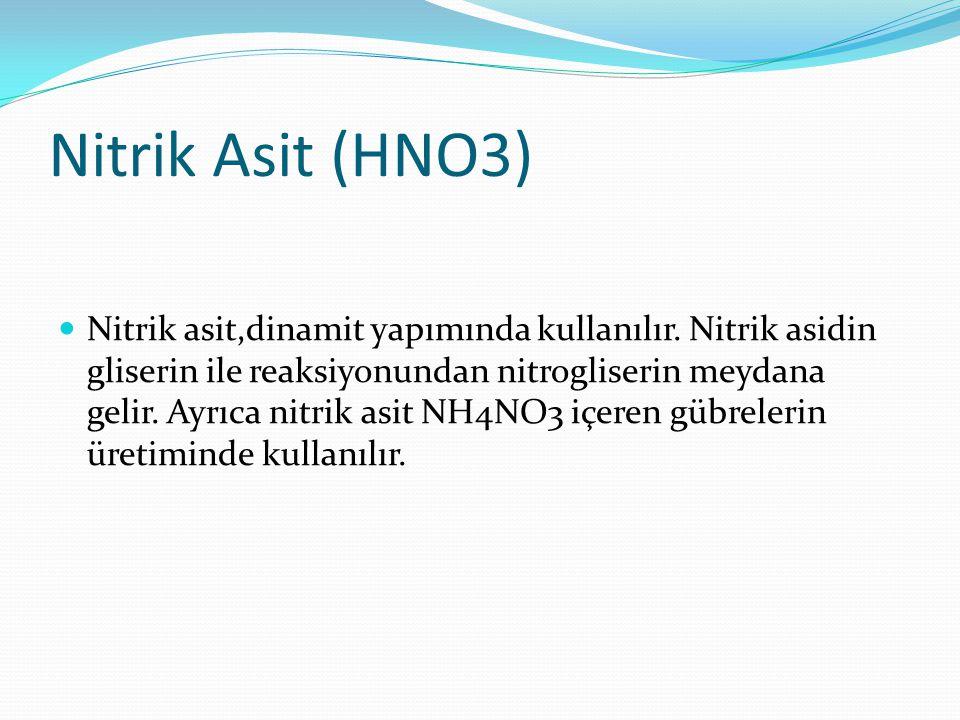 Nitrik Asit (HNO3)
