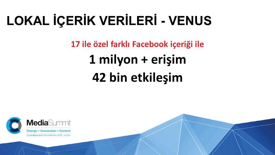 LOKAL İÇERİK VERİLERİ - VENUS