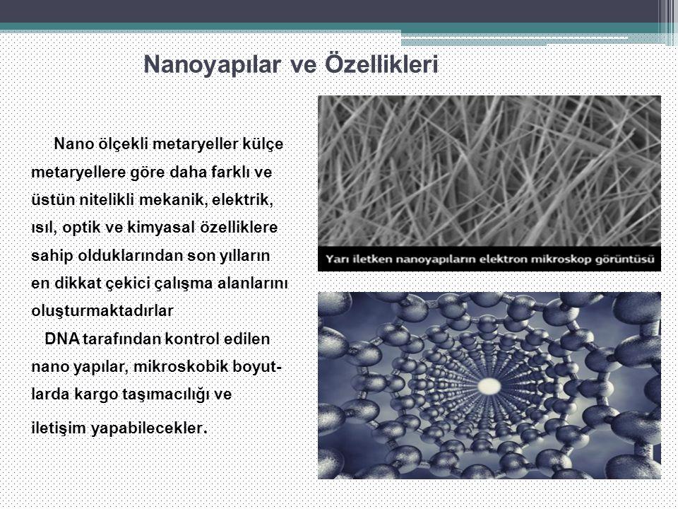 Nanoyapılar ve Özellikleri