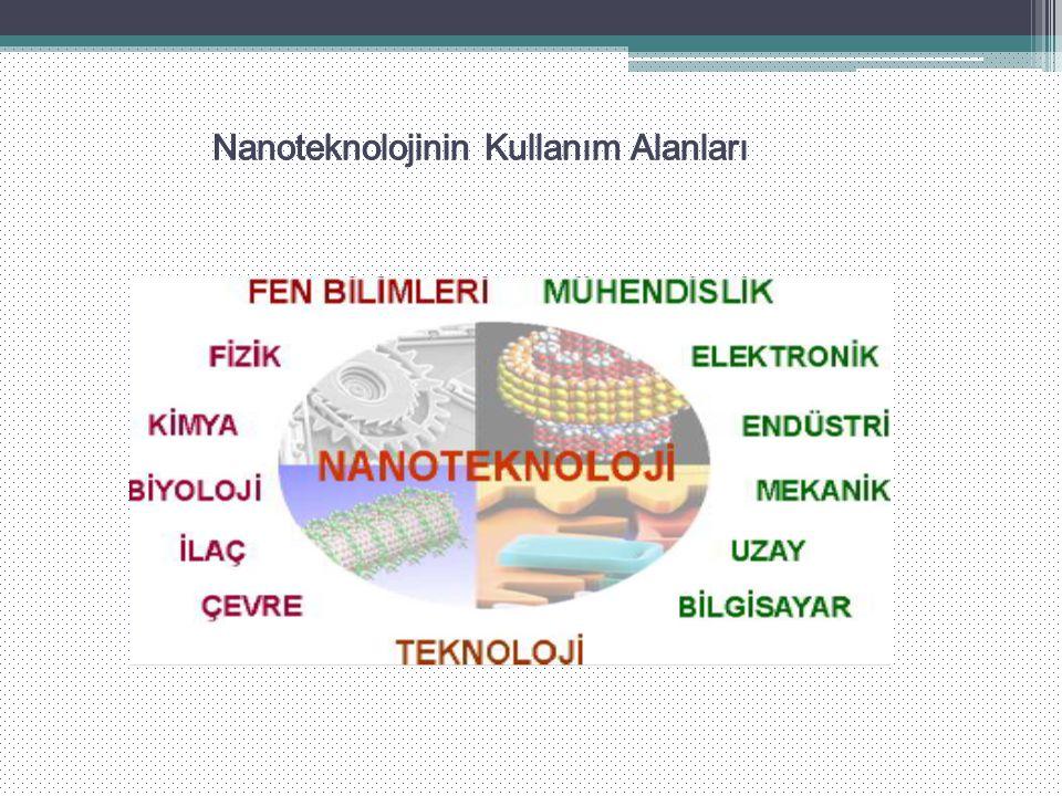 Nanoteknolojinin Kullanım Alanları