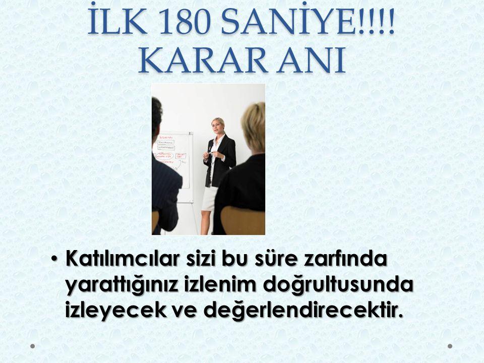 İLK 180 SANİYE!!!.