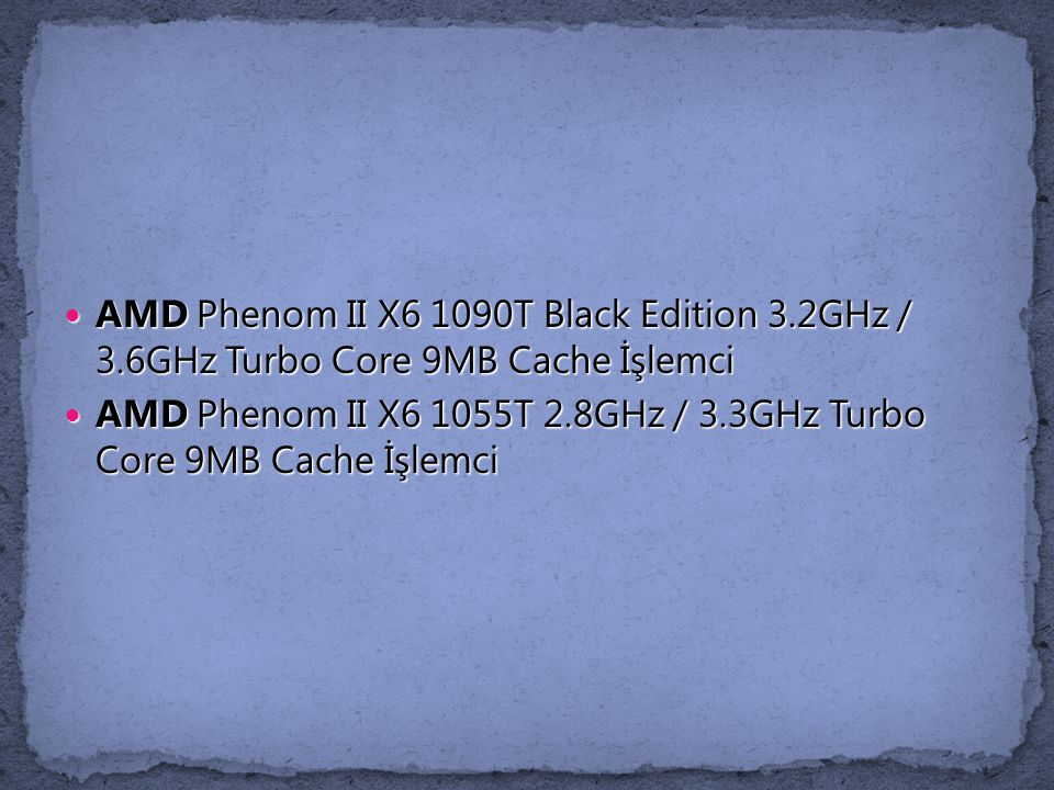AMD Phenom II X6 1090T Black Edition 3. 2GHz / 3