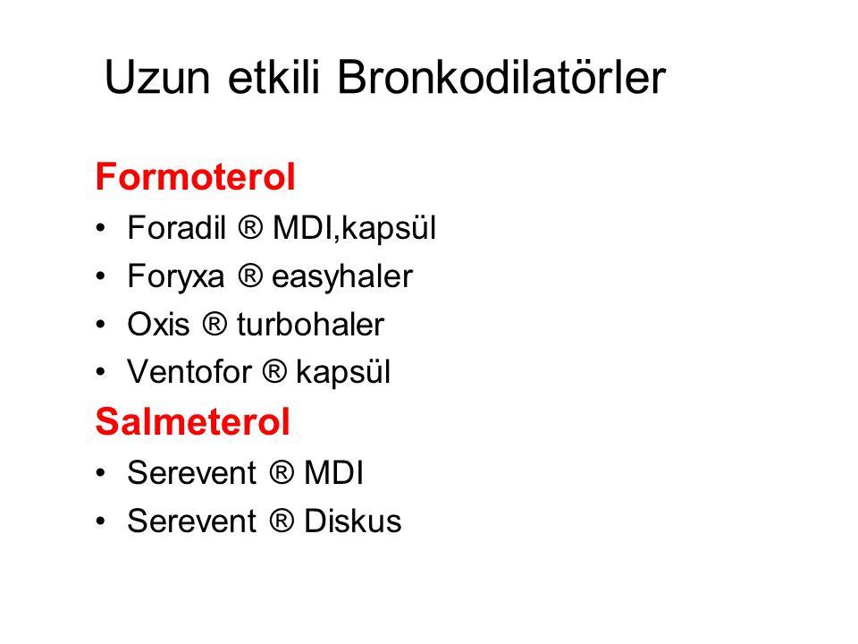 Uzun etkili Bronkodilatörler