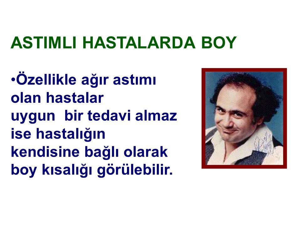 ASTIMLI HASTALARDA BOY