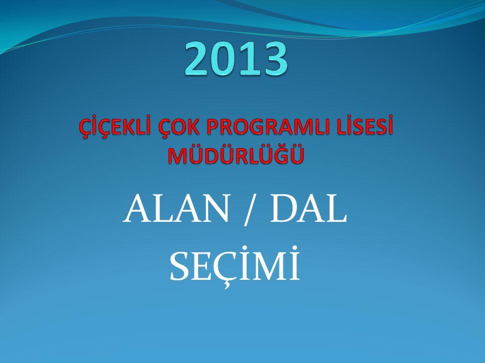 2013 ÇİÇEKLİ ÇOK PROGRAMLI LİSESİ MÜDÜRLÜĞÜ