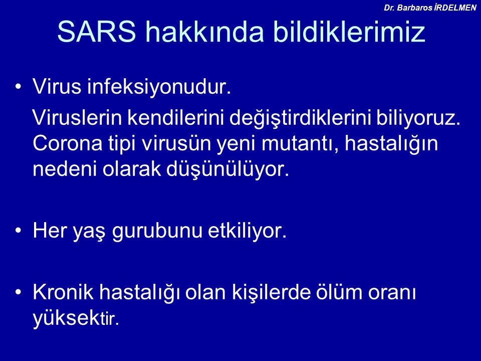 SARS hakkında bildiklerimiz