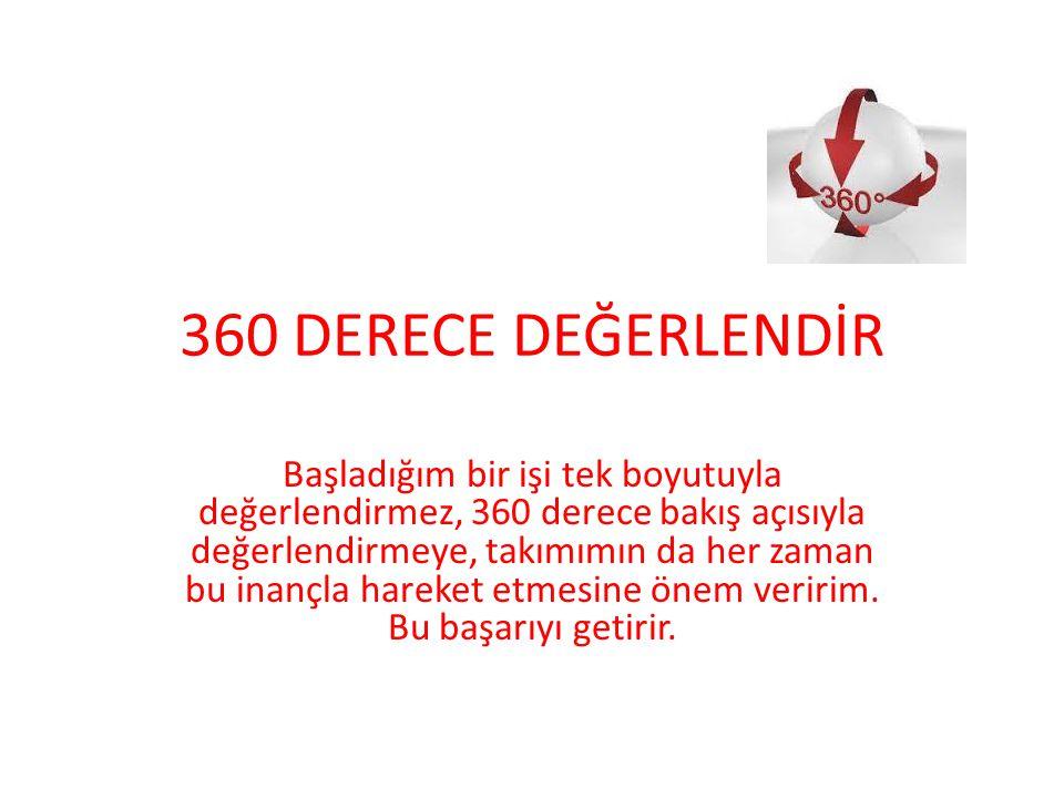360 DERECE DEĞERLENDİR