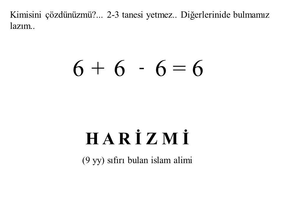 (9 yy) sıfırı bulan islam alimi
