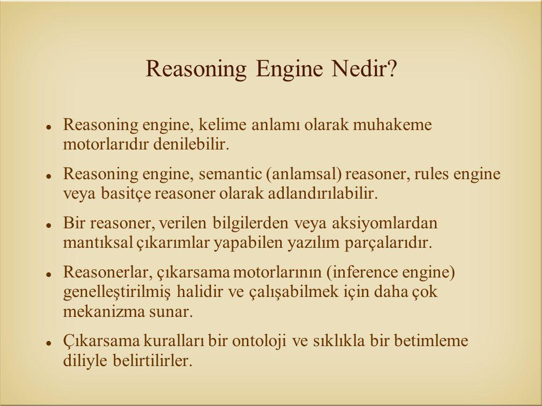 Reasoning Engine Nedir