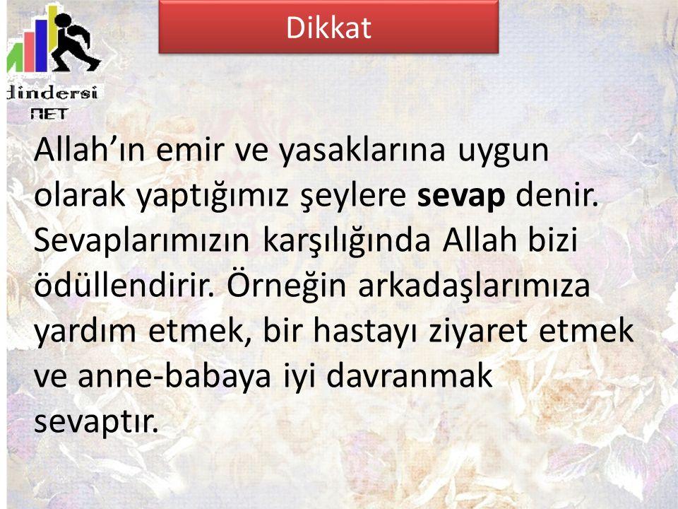 Allah'ın emir ve yasaklarına uygun