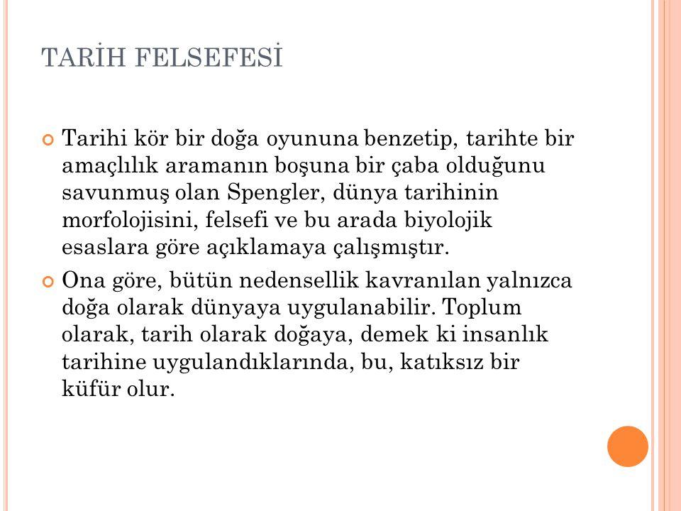 TARİH FELSEFESİ