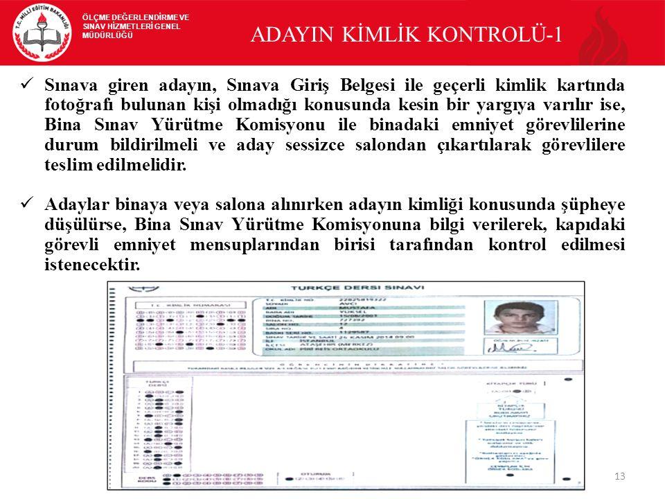 ADAYIN KİMLİK KONTROLÜ-1