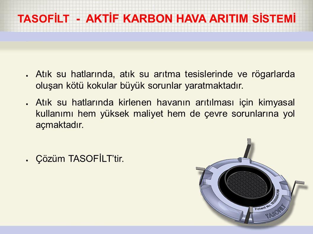TASOFİLT - AKTİF KARBON HAVA ARITIM SİSTEMİ