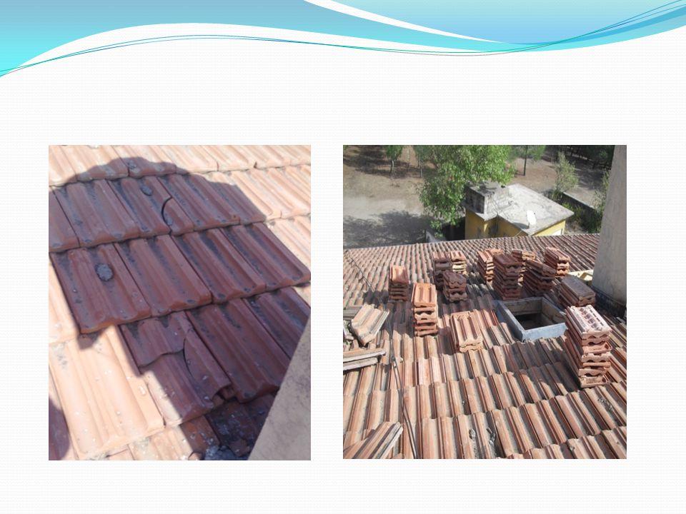 Çatıların Tamiratının Yapılması