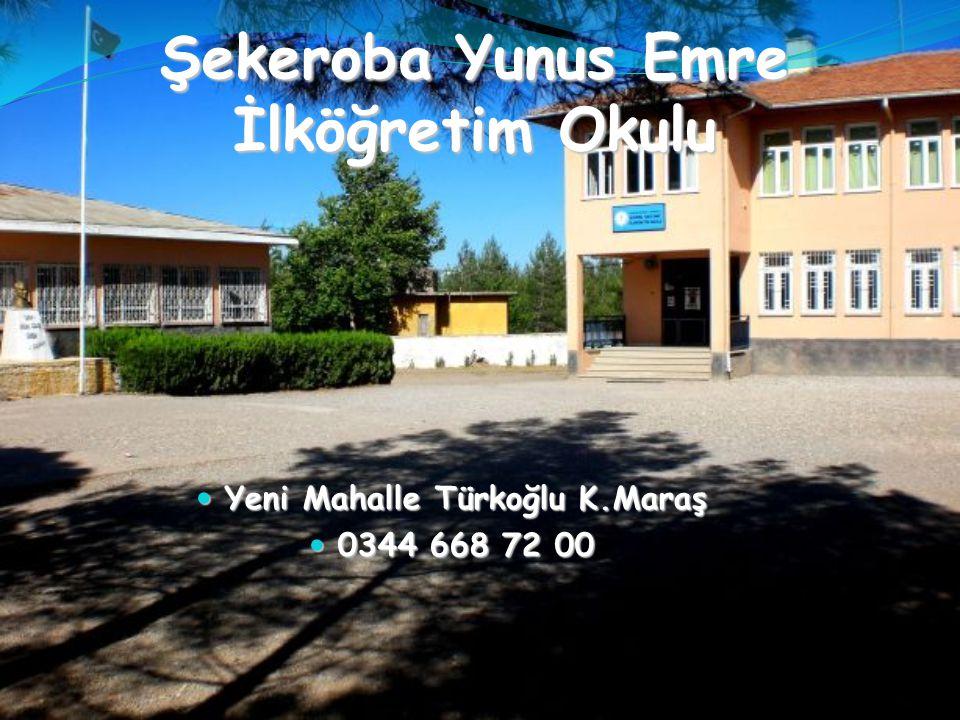 Şekeroba Yunus Emre İlköğretim Okulu