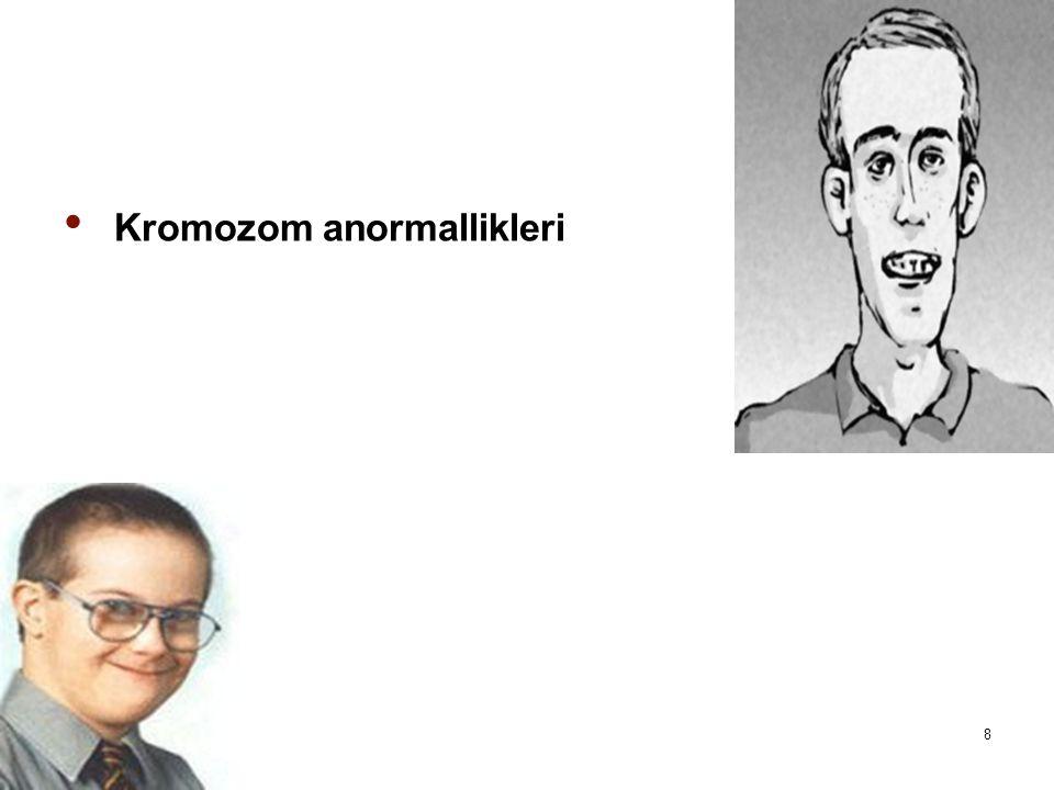 Kromozom anormallikleri