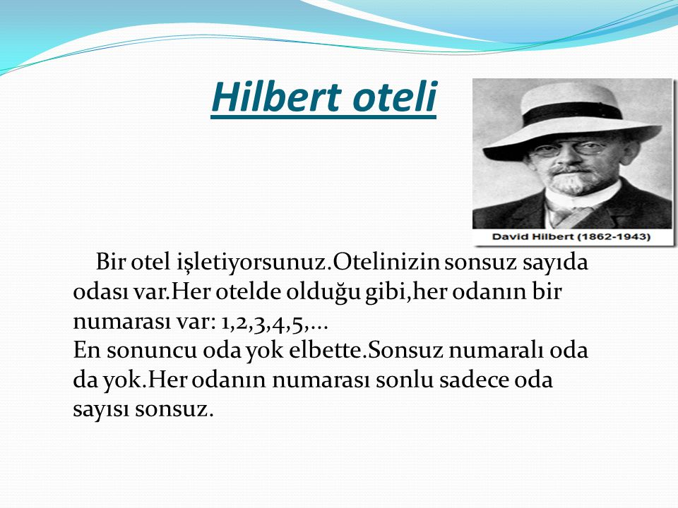 Hilbert oteli