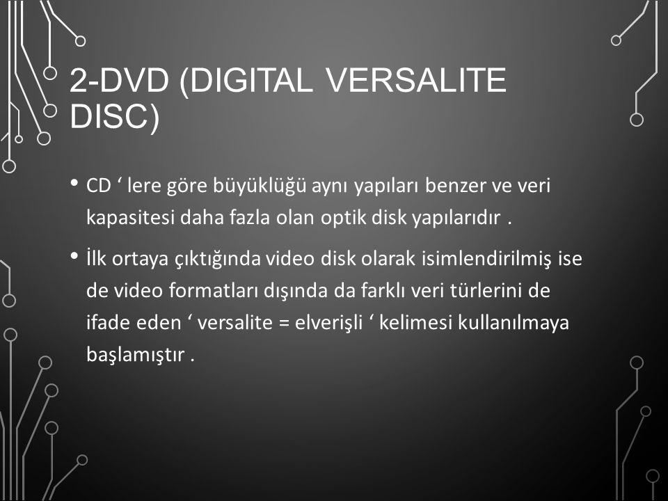 2-DVD (Digital Versalite Disc)