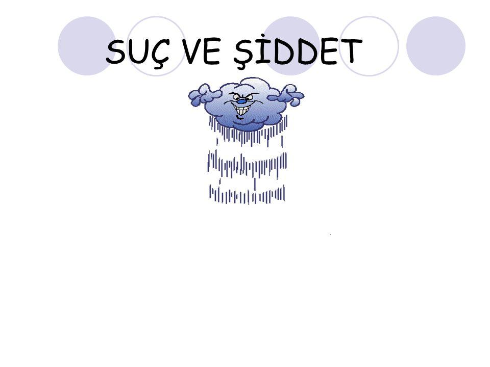 SUÇ VE ŞİDDET