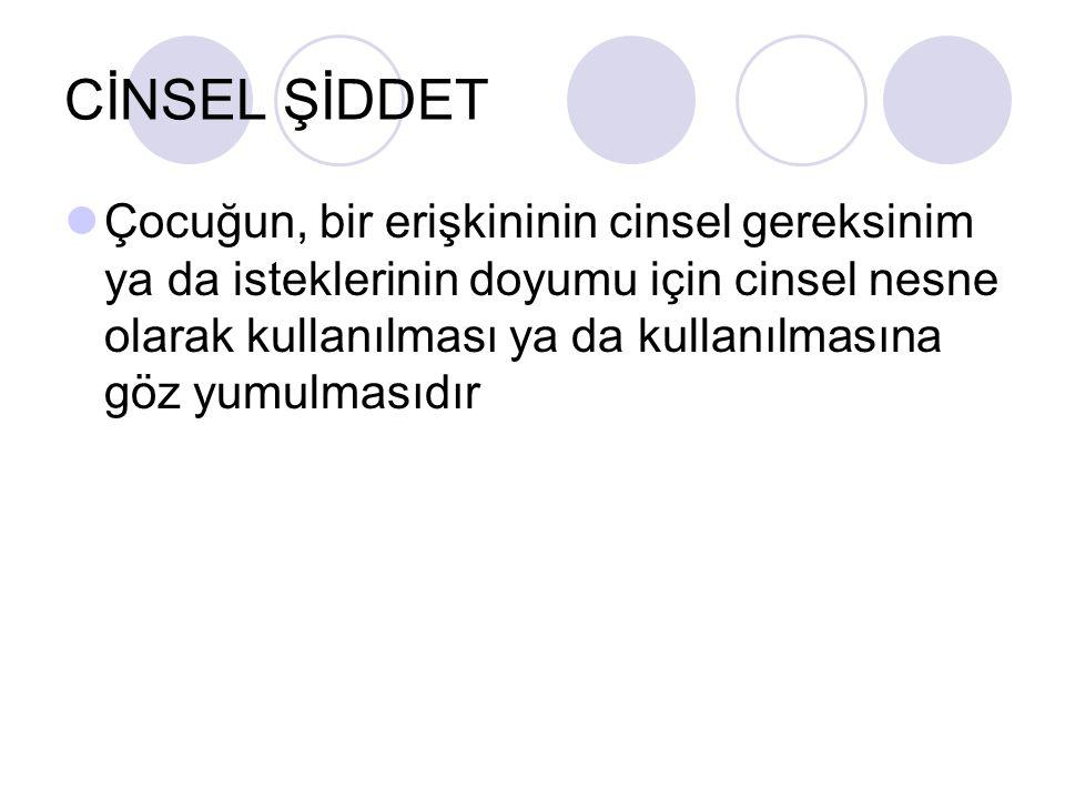 CİNSEL ŞİDDET