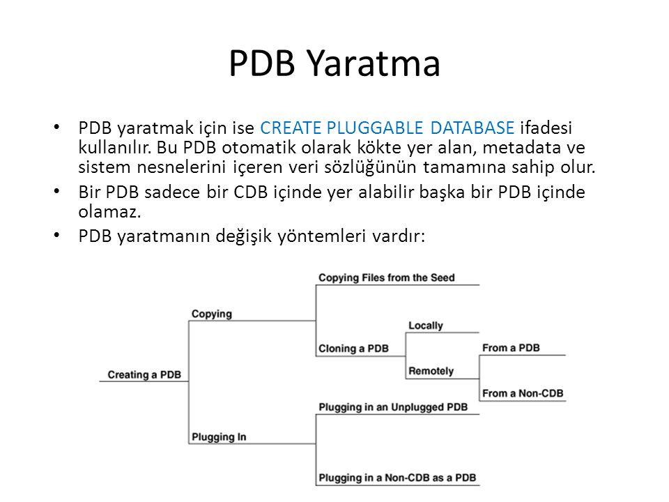PDB Yaratma