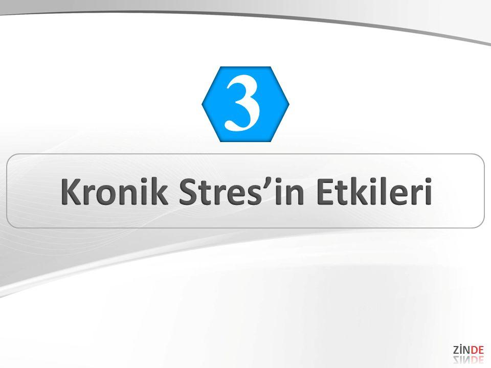 Kronik Stres'in Etkileri