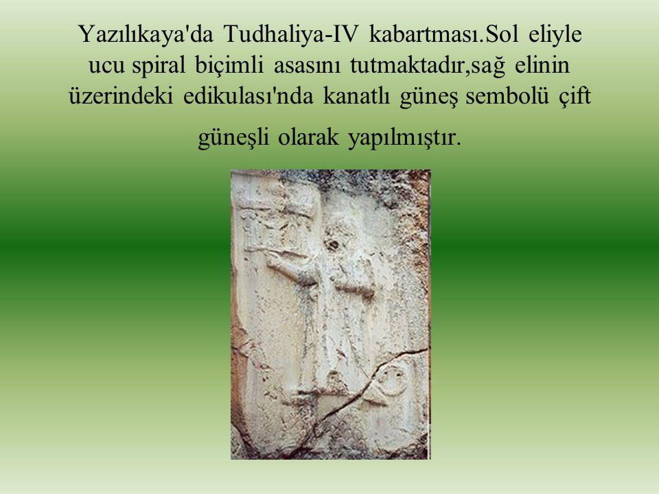 Yazılıkaya da Tudhaliya-IV kabartması