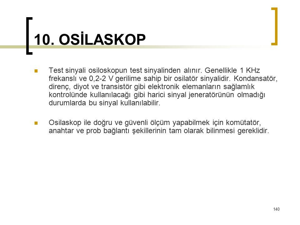 10. OSİLASKOP