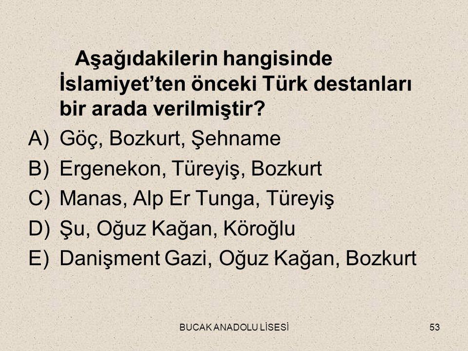 Ergenekon, Türeyiş, Bozkurt Manas, Alp Er Tunga, Türeyiş