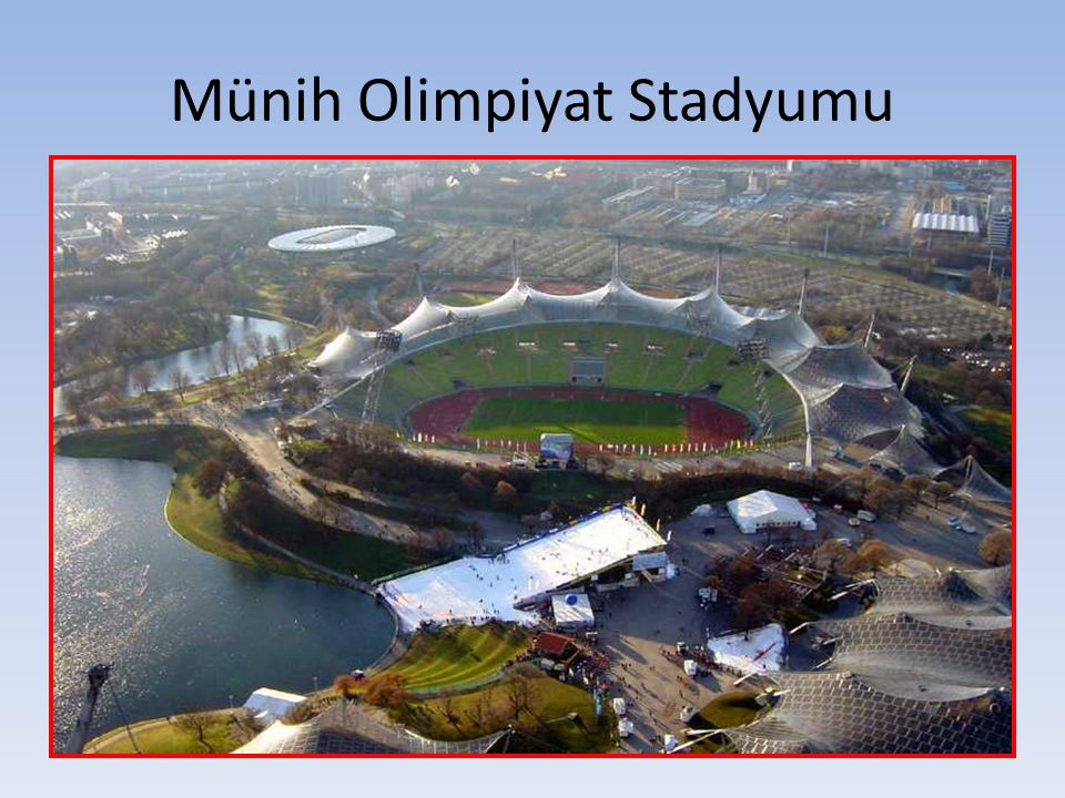 Münih Olimpiyat Stadyumu
