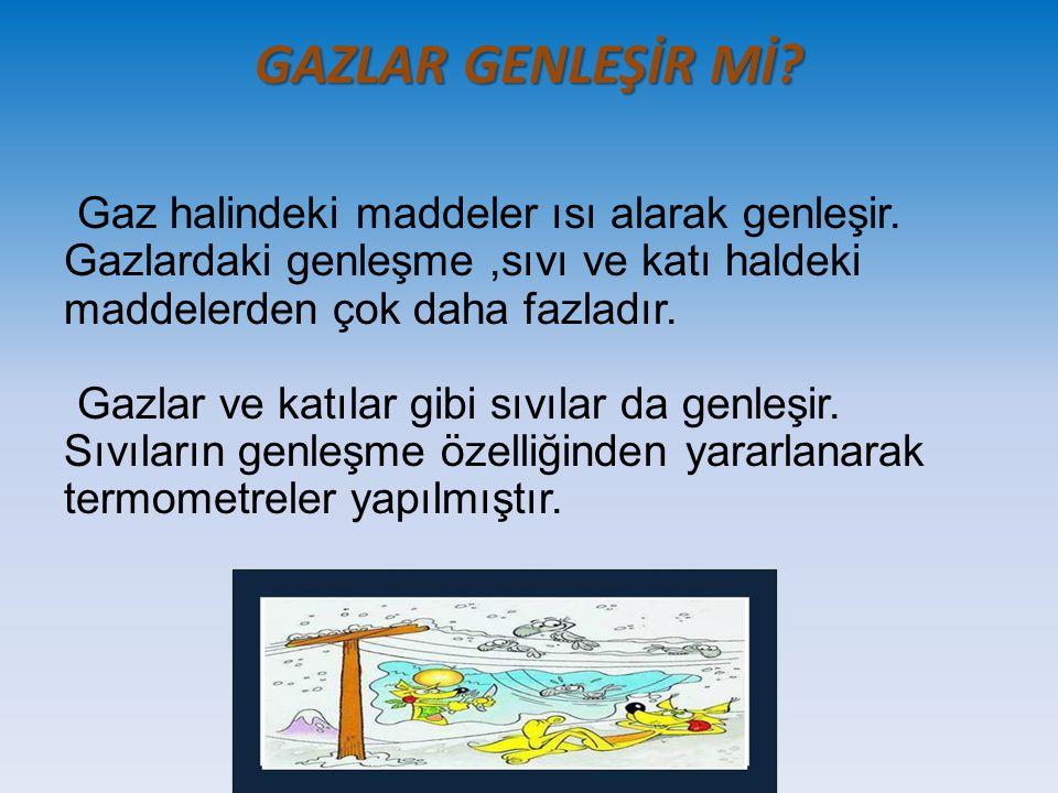 GAZLAR GENLEŞİR Mİ