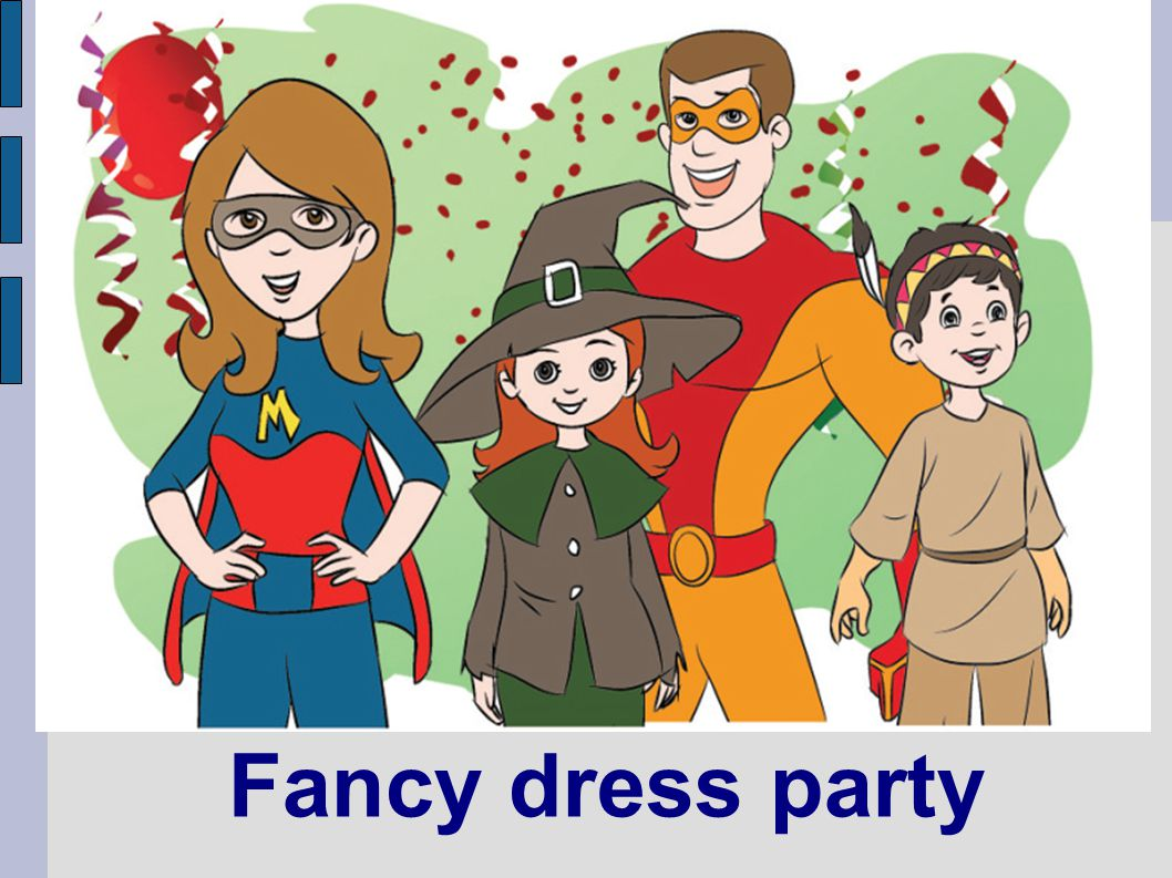 Fancy dress party