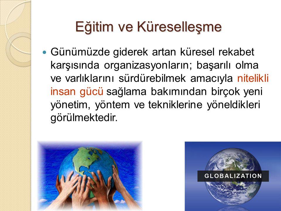 Eğitim ve Küreselleşme