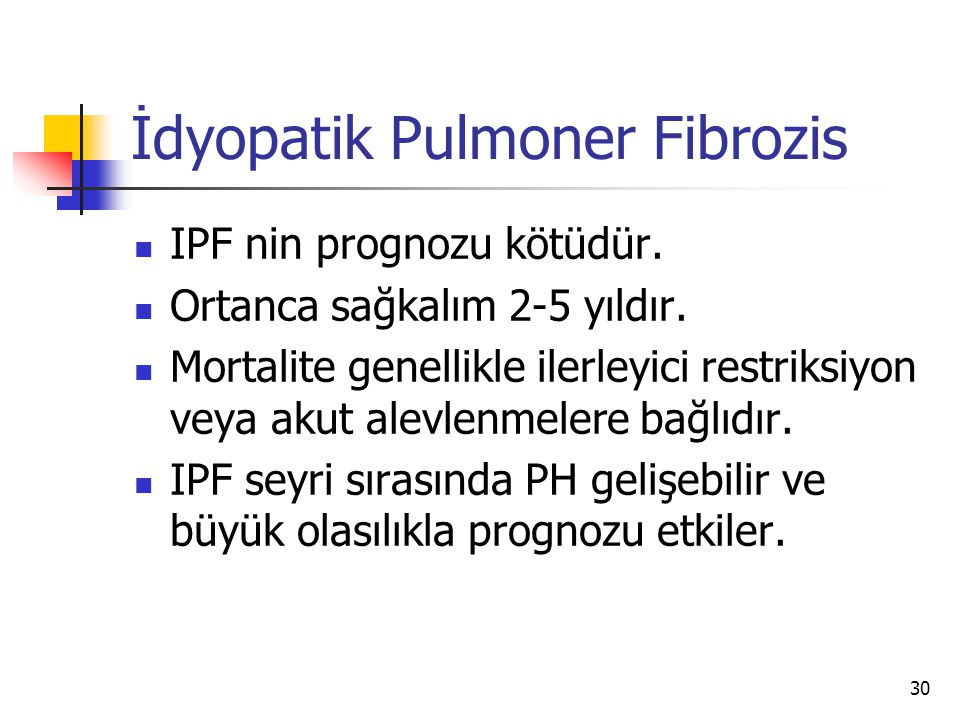 İdyopatik Pulmoner Fibrozis