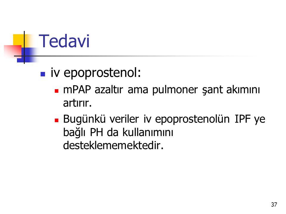Tedavi iv epoprostenol: