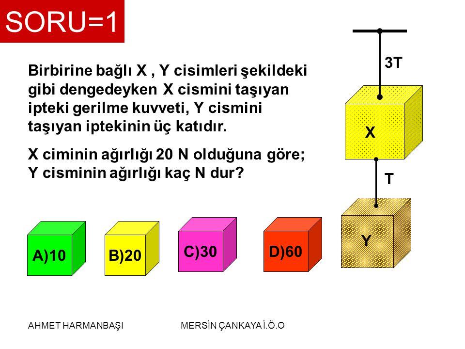 SORU=1 3T. T. X. Y.