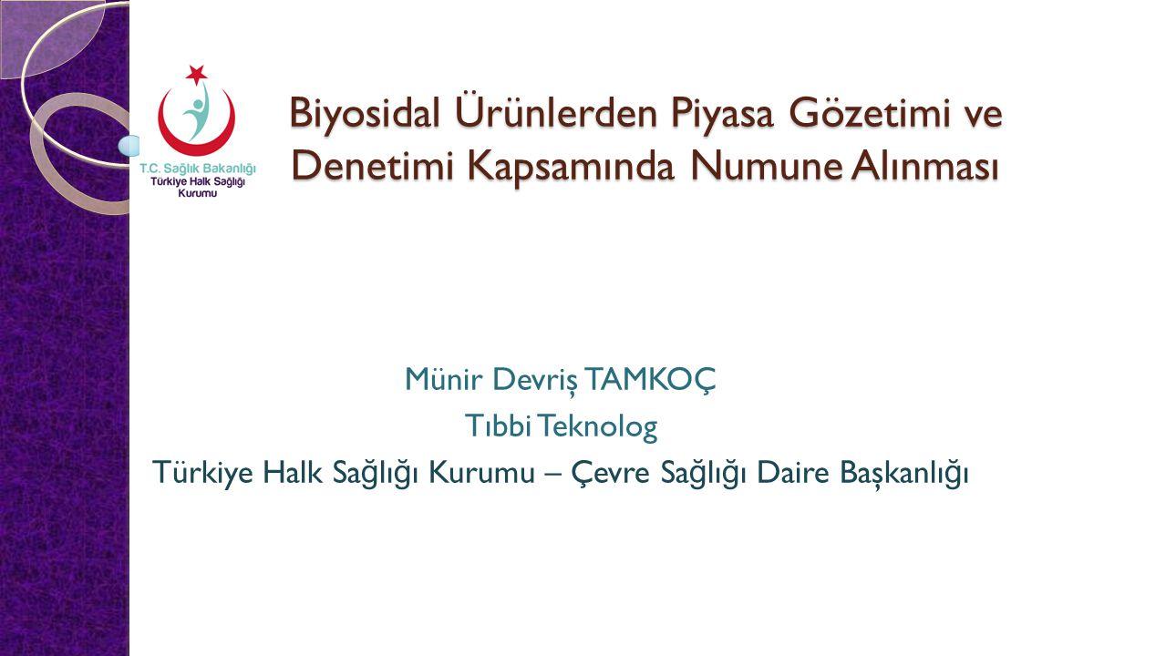 Türkiye Halk Sağlığı Kurumu – Çevre Sağlığı Daire Başkanlığı