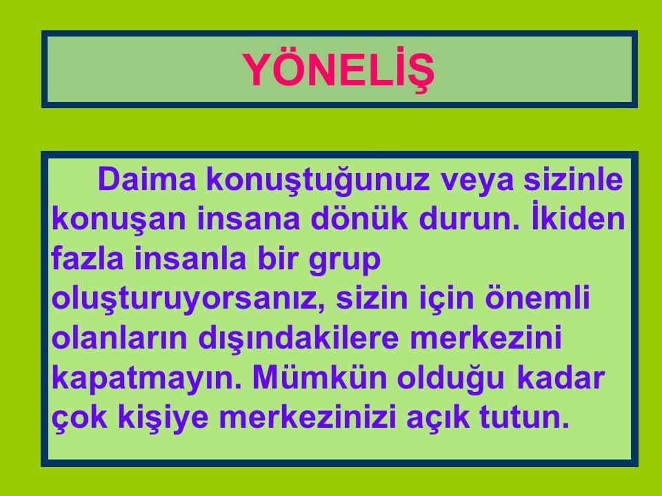 YÖNELİŞ