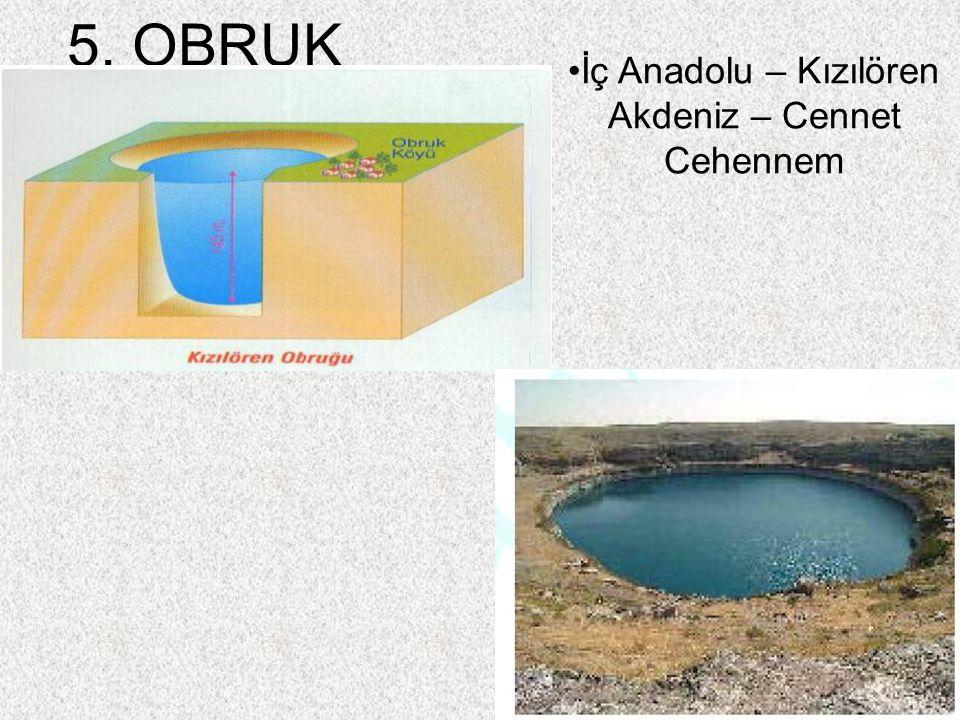 İç Anadolu – Kızılören Akdeniz – Cennet Cehennem