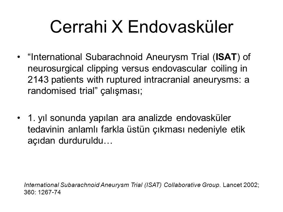 Cerrahi X Endovasküler