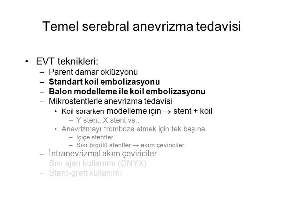 Temel serebral anevrizma tedavisi