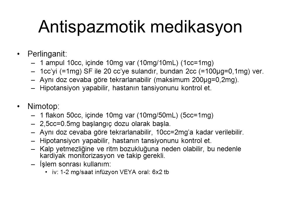 Antispazmotik medikasyon