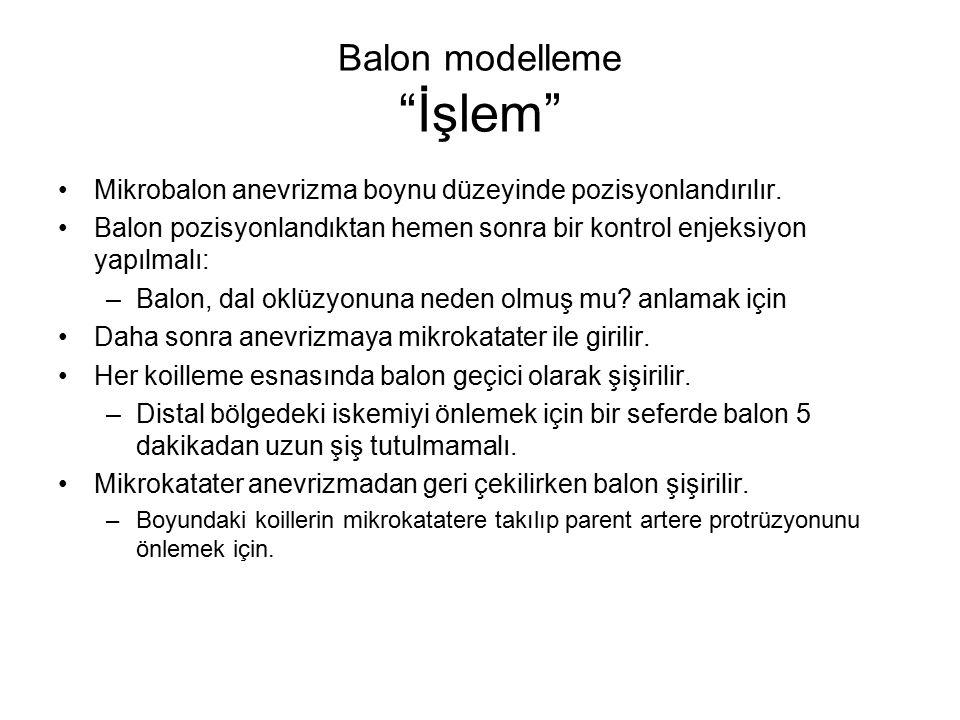 Balon modelleme İşlem