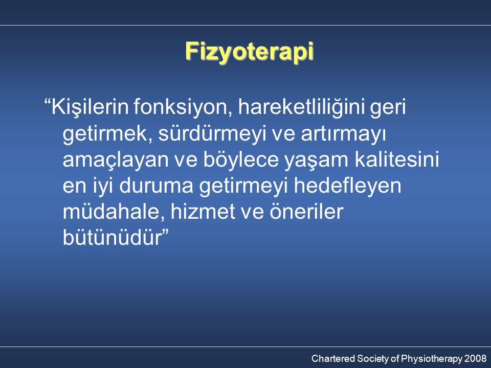 Fizyoterapi