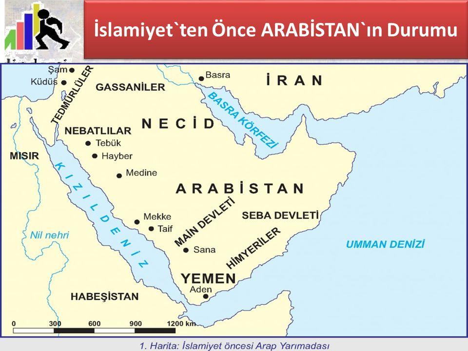 İslamiyet`ten Önce ARABİSTAN`ın Durumu