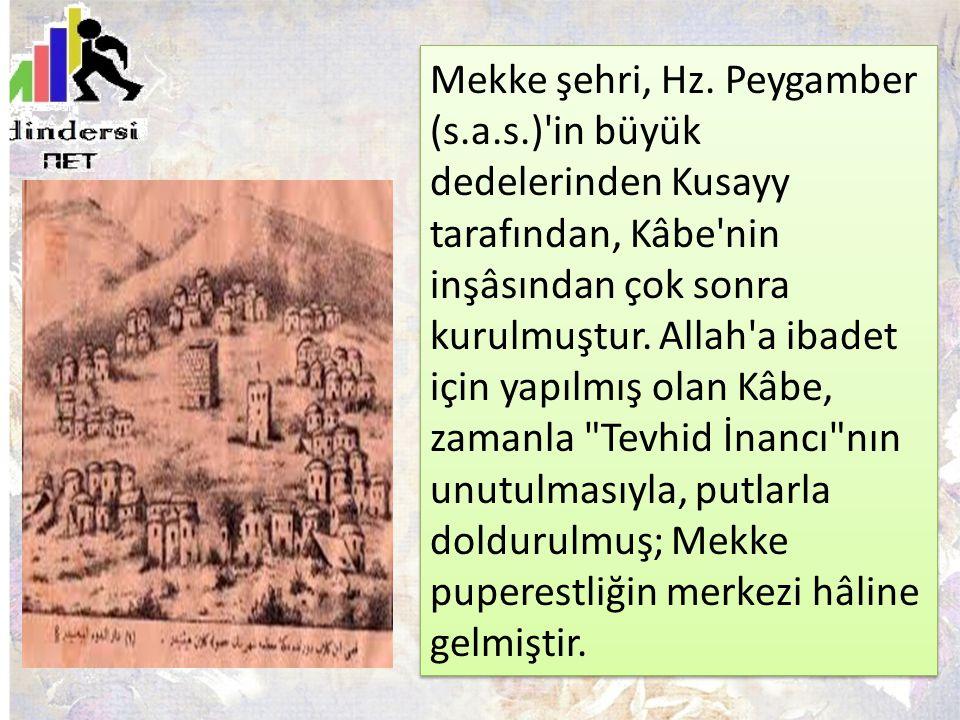 Mekke şehri, Hz. Peygamber (s. a. s