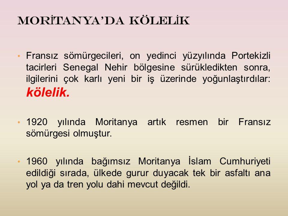 MORİTANYA'DA KÖLELİK