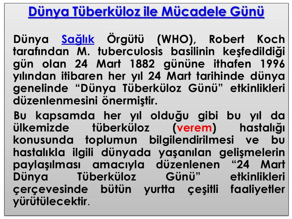Dünya Tüberküloz ile Mücadele Günü