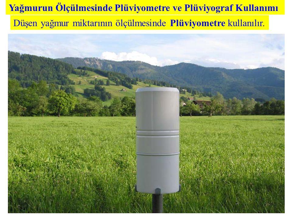 Yağmurun Ölçülmesinde Plüviyometre ve Plüviyograf Kullanımı